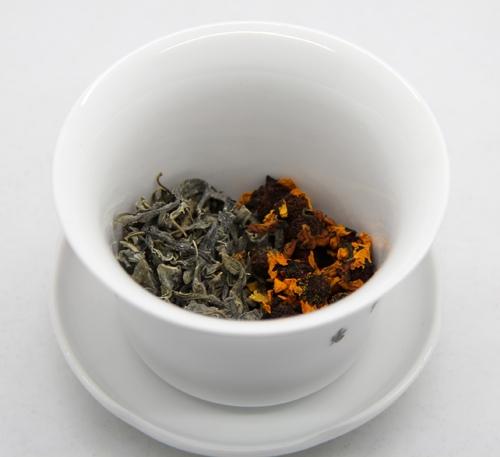 罗布麻茶3克+雪菊1克